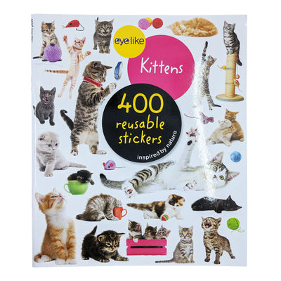 Kittens Reusable Sticker Book