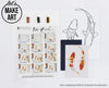 Koi Fish Watercolor Paint Kit