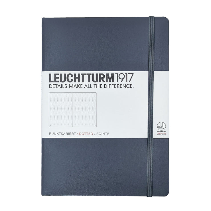 Leuchtturm Medium Dotted Notebook - Anthracite