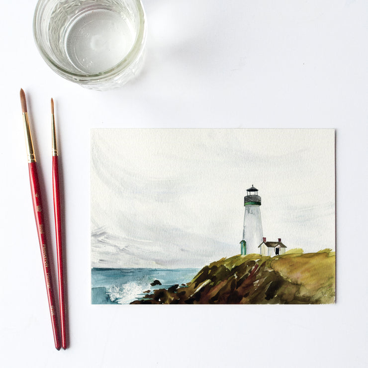Lighthouse Watercolor Kit