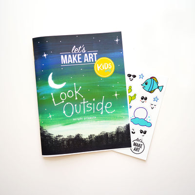 Look Outside Zine and Stickers