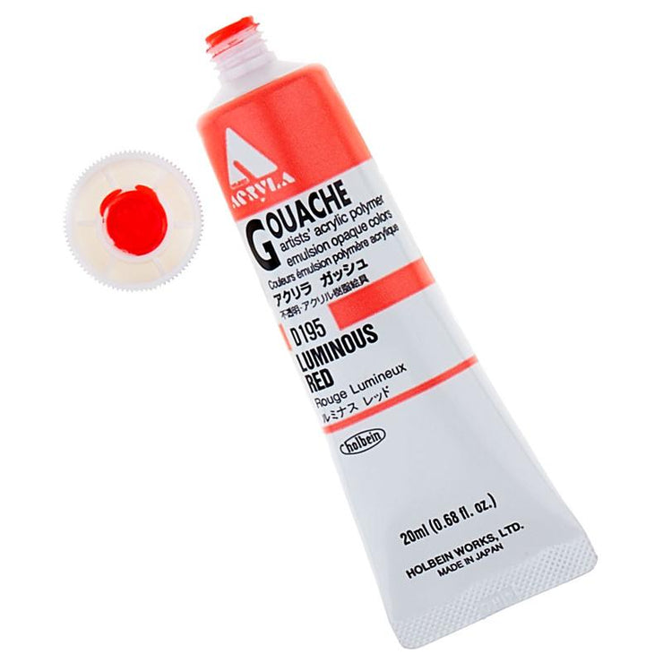 Acryla Gouache 20ml Paint Tubes (Luminous Colors)