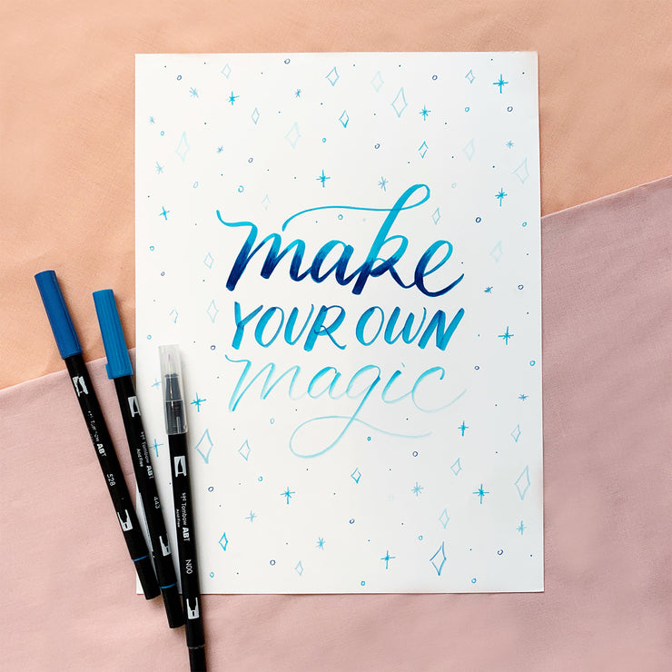 Make Your Own Magic Lettering Kit