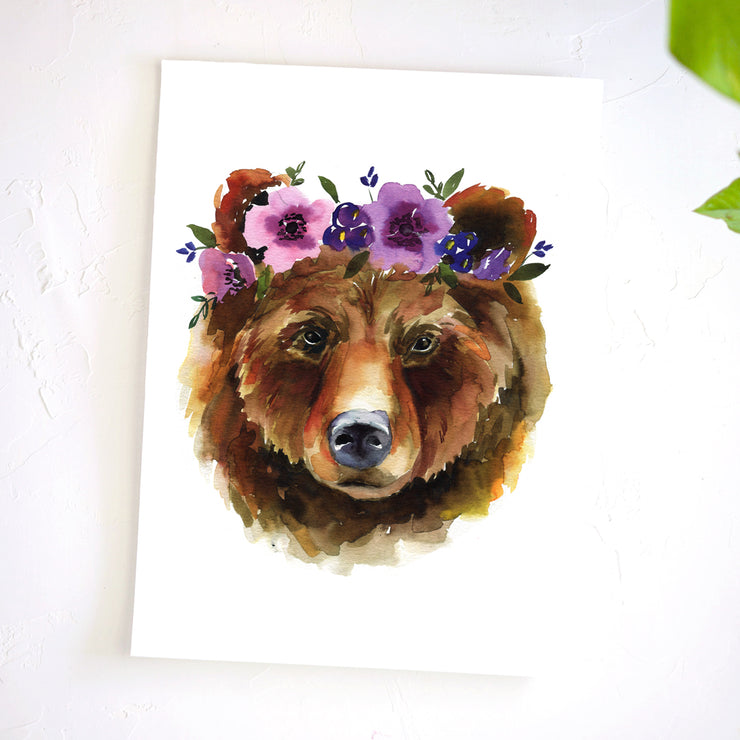 Mama Bear Watercolor Kit