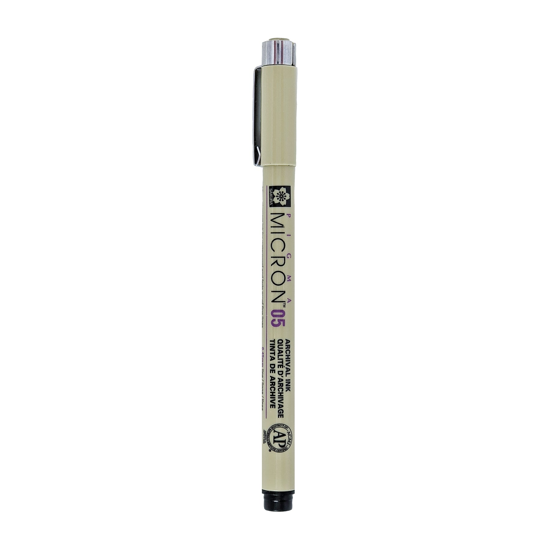 Pigma Micron Pen - Black (.45mm)