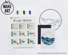 Ocean Waves Watercolor Paint Kit
