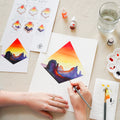 Sunset Glow Watercolor Kit