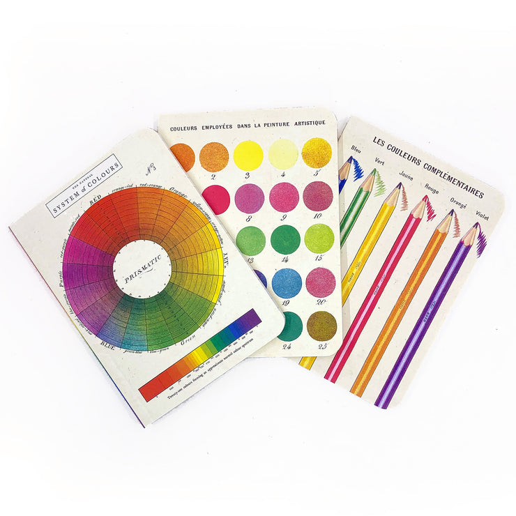 Color Wheel Mini Notebooks (3 pack)