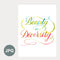 """Beauty In Diversity"" - 8x10 Art Printable by Raven Lowrey"