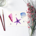 Seashells Watercolor Kit