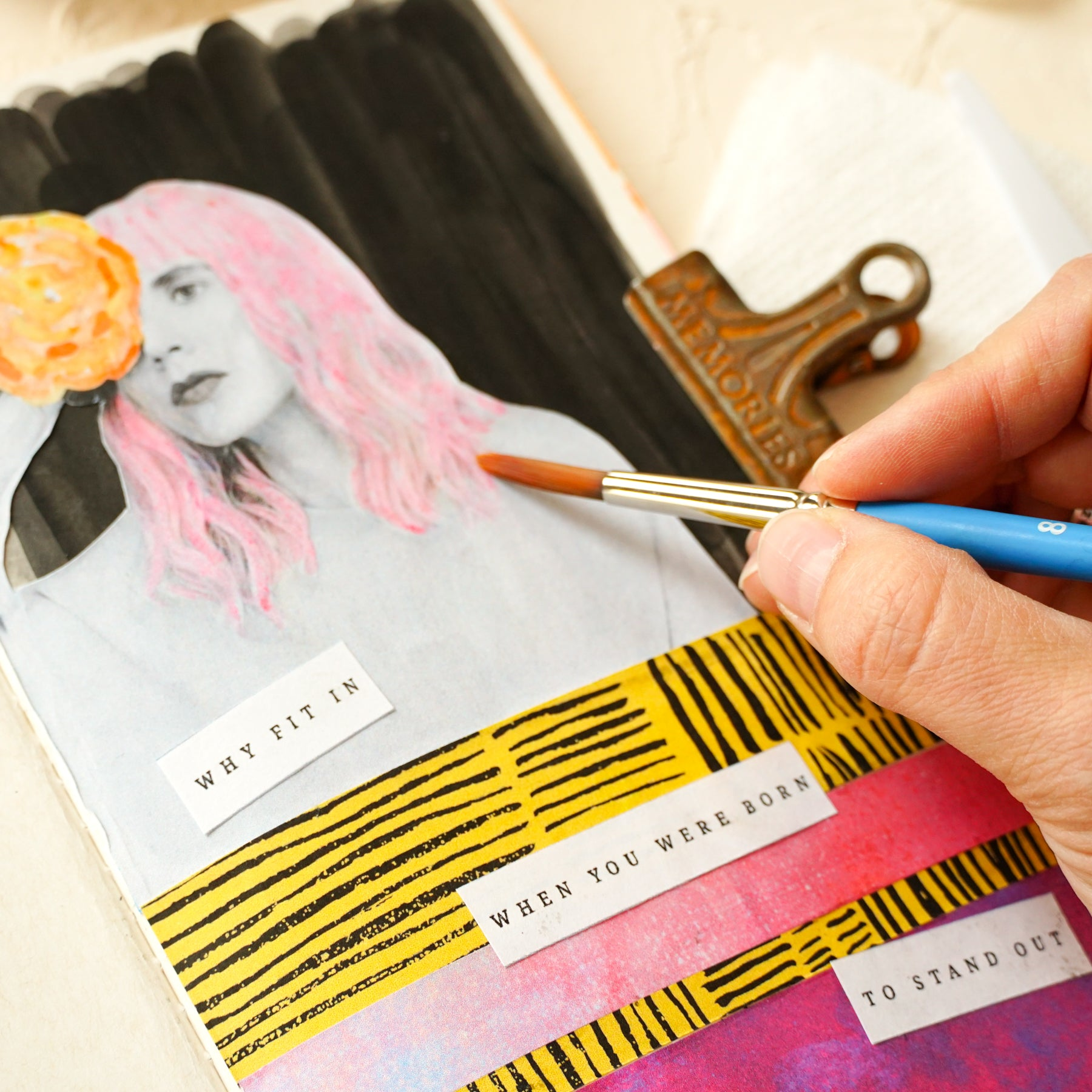 Refocus & Refashion Art Journaling Box