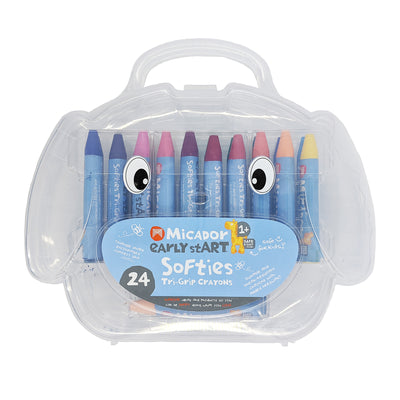 Softies Tri-Grip Crayons (24 pack)