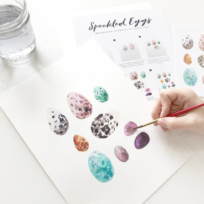 Speckled Eggs Watercolor Kit