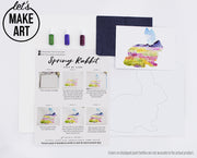 Spring Rabbit Watercolor Kit