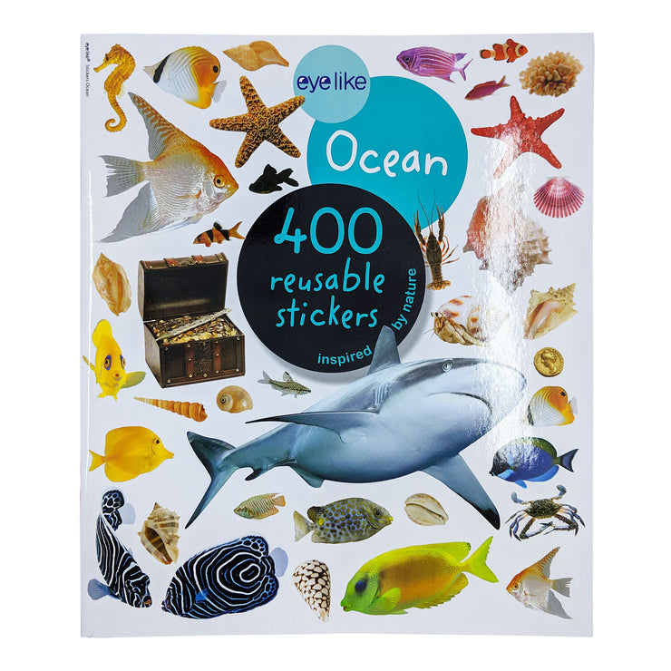 Oceans Reusable Sticker Book