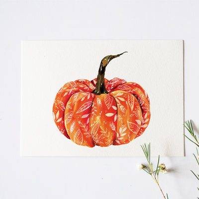 Fall Pumpkin Watercolor Kit