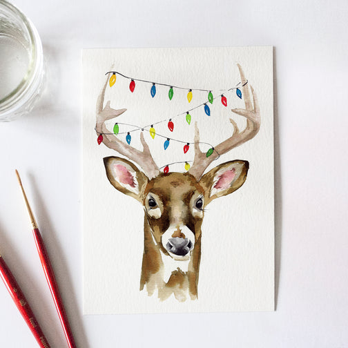 Holiday Buck Bonus Watercolor Kit