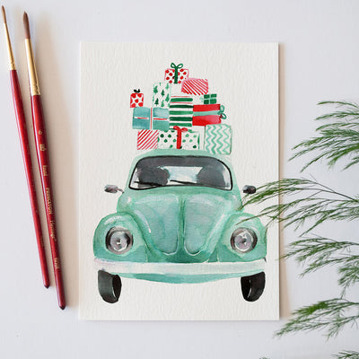 Holiday Bug Watercolor Kit
