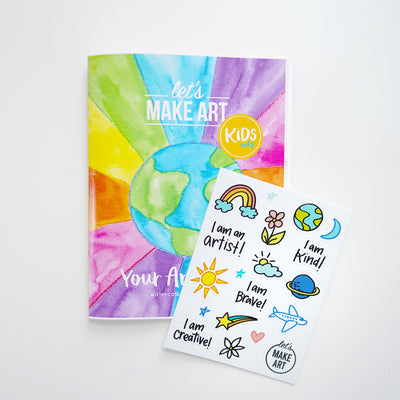 Your Art World Zine and Stickers