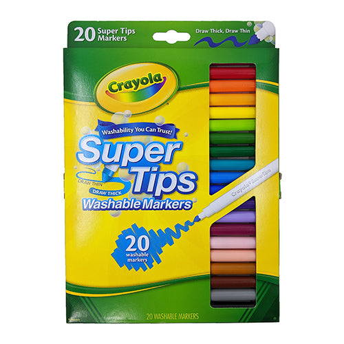 Super-Tip Washable Markers (20 pack)