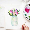 Tulip Jar Watercolor Paint Kit