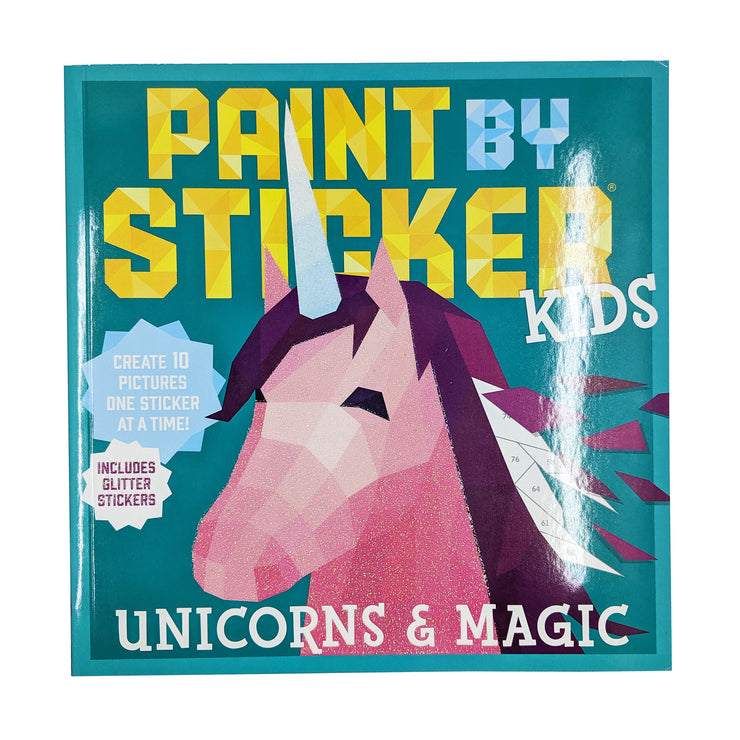 Paint-by-Stickers - Unicorns & Magic