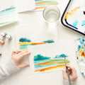 Modern Landscape Watercolor Kit
