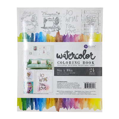 Watercolor Coloring Book Vol. 1