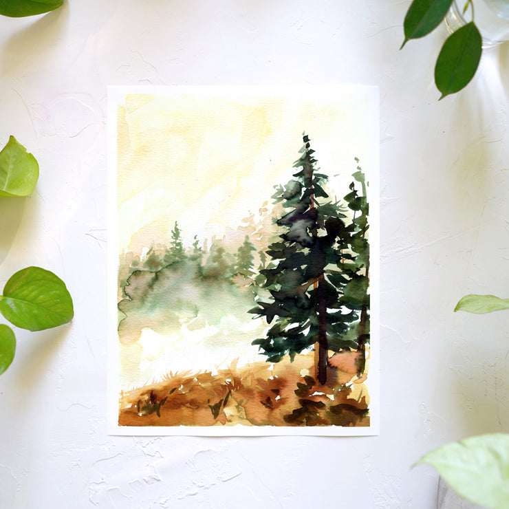 Wild Trees Watercolor Kit
