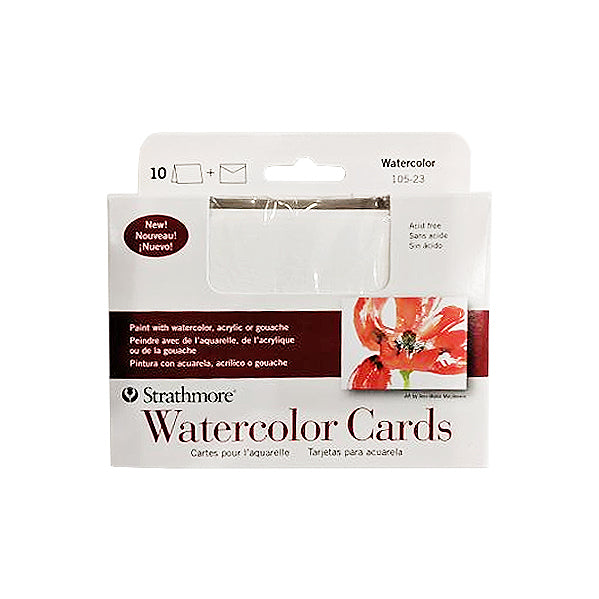 Strathmore Watercolor Cards 3.5