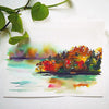 Autumn Lake Watercolor Paint Kit
