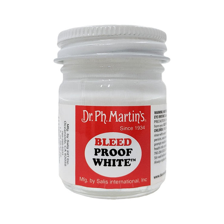 Bleed Proof White Opaque Watercolor Paint