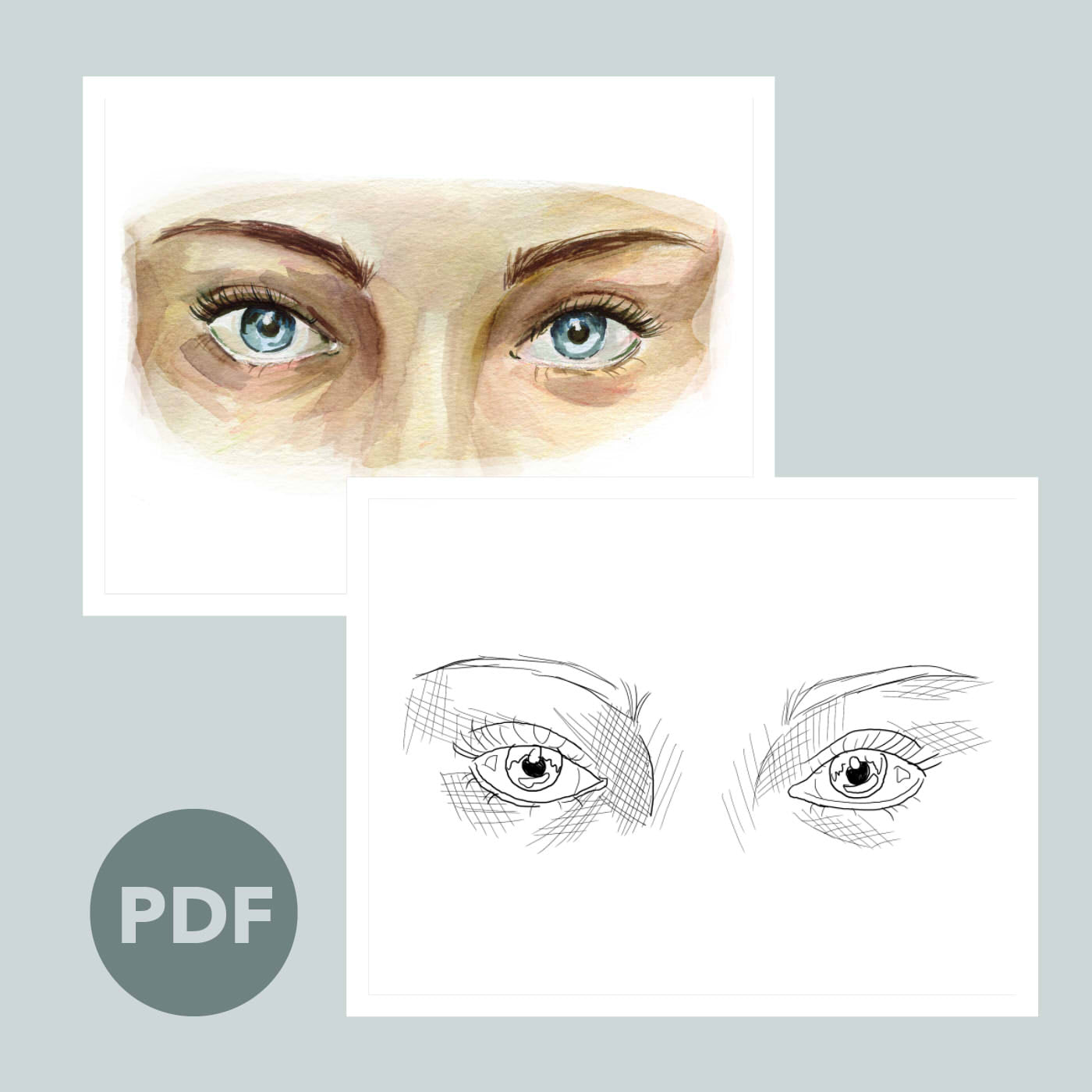 Eyes Outline