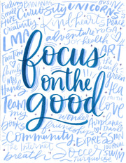Focus On The Good Lettering Kit