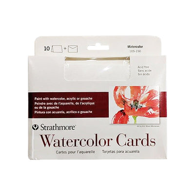 Strathmore Watercolor Cards (5in x 6.9in)