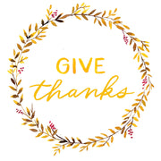 Give Thanks Watercolor Kit