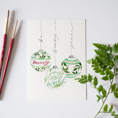 December Ornaments Bonus Watercolor Kit