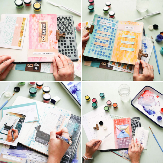 Record and Reflect Art Journaling Box