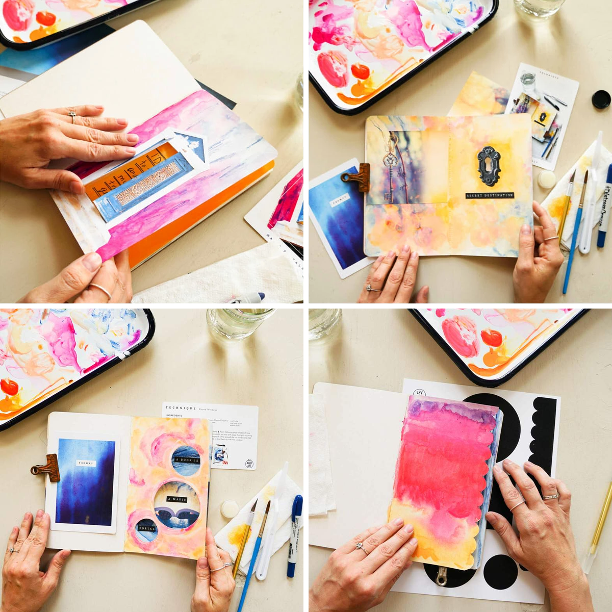 Magic Portals Art Journaling Box