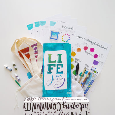Lettering Subscription Box