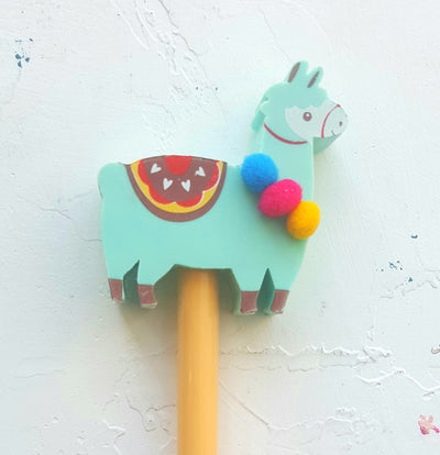 Duo Pencil With Llama Eraser