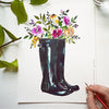 Rain Boots Watercolor Paint Kit