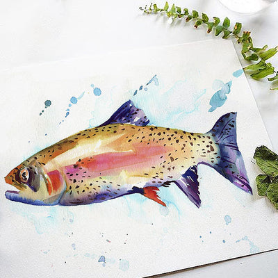 Rainbow Trout Bonus Watercolor Kit