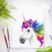 Rainbow Unicorn Watercolor Kit