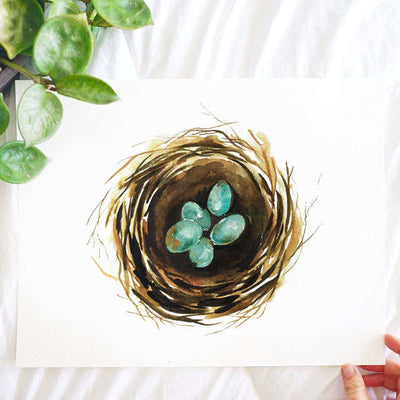 Robin Eggs Watercolor Kit