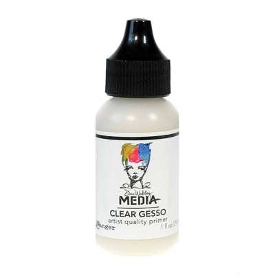 Dina Wakley Media Clear Gesso (1 oz)