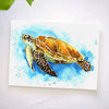Sea Turtle Watercolor Paint Kit