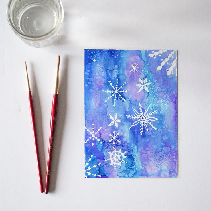 Snowflakes Bonus Watercolor Kit