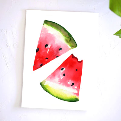 Watermelon Watercolor Kit
