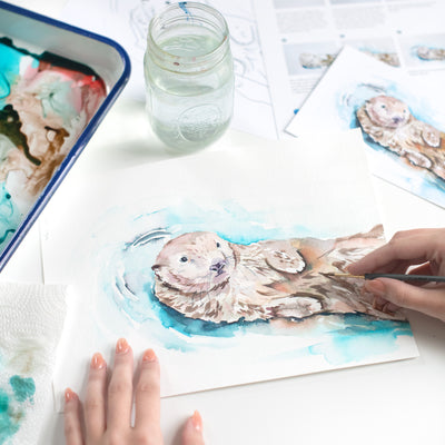Otter Watercolor Kit